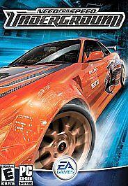 Need For Speed Underground Pc 2003 For Sale Online Ebay