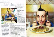 PUBLICITE ADVERTISING 2002 ARTURO BRACHETTI  (2 pages)