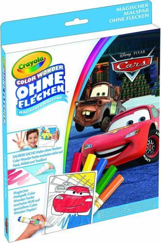 Crayola Color Wonder Magischer Malspaß Malen Zeichnen Disney Pixar Cars Neu