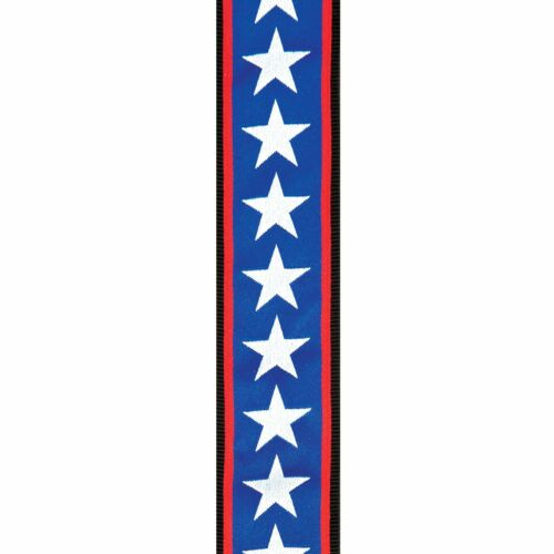 Stars and Stripes 50PLA10 P//No Planet Waves Planet Lock Guitar Strap