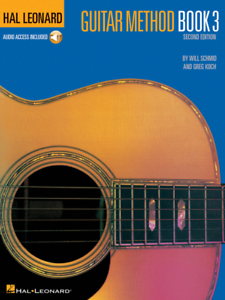 HAL LEONARD GUITAR METHOD MUSIC BOOK 3 W//AUDIO ACCESS-BRAND NEW ON SALE-TEACH!!