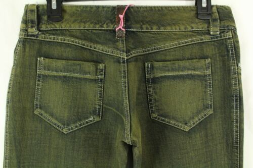 Verde Sdrucito Italy Jeans Donna Retail King's Cortina Made In IwtqFSa8