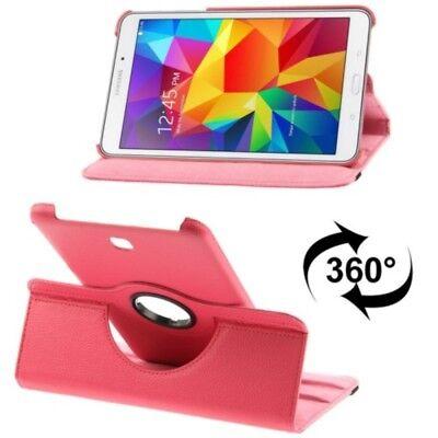 Case Bumper Astuccio Custodia Per Tablet Samsung Galaxy Tab 4 8.0 Sm-t330 Rosa Nuovo-