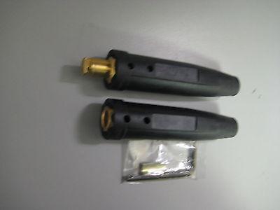 Welding Cable Connector CC40//LC-40 Set Male /& Female Set 1//0-2//0 Twist Lock