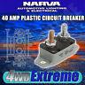 NARVA 40 AMP CIRCUIT BREAKER AUTO RESET, BATTERY 40A CARAVAN FUSE 54840