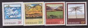 NEW ZEALAND 1983 PAINTINGS SET LIGHTLY HINGED MINT