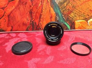 Minolta Rokkor-X 50mm 1:1.4 f/1.4 Manual Focus MD-Mount Prime Lens