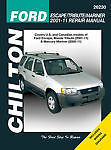 SHOP MANUAL SERVICE REPAIR ESCAPE TRIBUTE MARINER BOOK CHILTON 26230 2001-2011