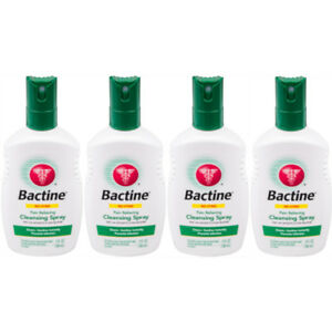 4 Pack Bactine Pain Relieving Cleansing Spray Infection Protection 5 oz