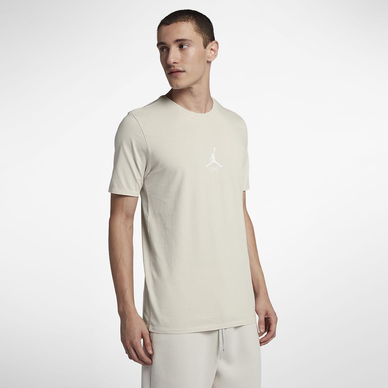 Jordan JSW Wings Washed Tee New Light Bone White Men Sportswear AA1875-072