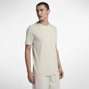 d039e0ac81a54a Jordan JSW Wings Washed Tee New Light Bone White Men Sportswear ...