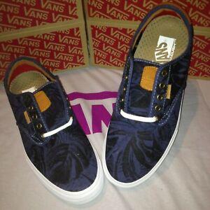 vans-authentic-sk8-Shoes-chima-ferguson-pro-Blue-Hawaiian-Design-Skate-Mens-All