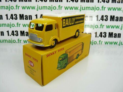 33 AN Déménageur Simca Cargo Bailly DT87E Voiture réédition DINKY TOYS atlas
