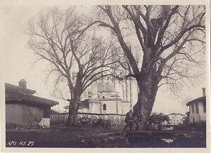 Mosquee-Macedonia-Greece-Turkey-Guerre-WW1-Vintage-Analogue-C-1915