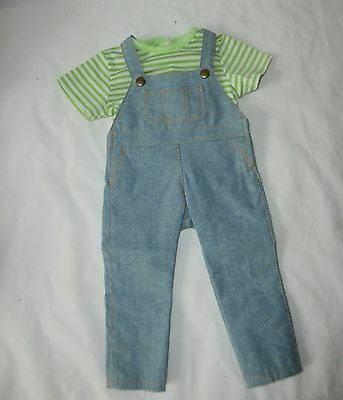 American Girl Boy Doll Clothes Lot Overalls