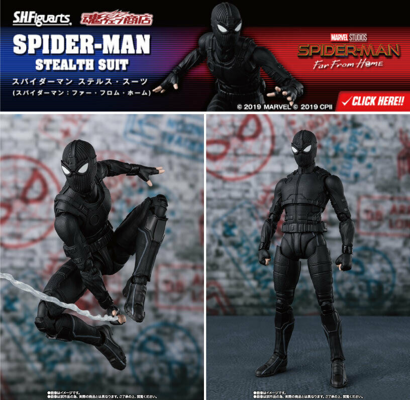 S.H.Figuarts Spider-Man Stealth Suit (Spider-Man Far From Home)