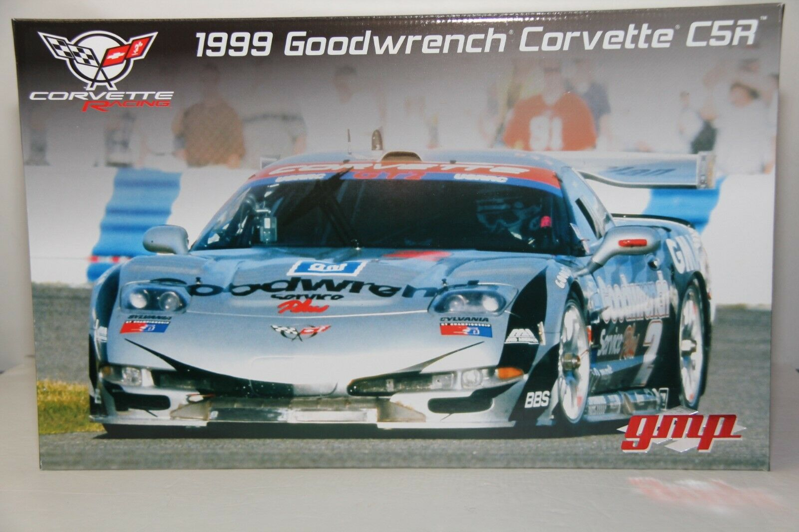 1/12 GMP 1999 CHEVROLET CORVETTE C5-R GOODWRENCH CORVETTE #2 , 1 OF 500 UNITS
