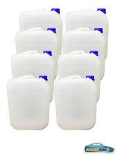 8x 5L Kunststoffkanister Kanister Behälter Wasserbehälter Plaste Kanne mit Decke