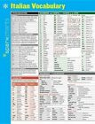 Italian Vocabulary SparkCharts 9781411470453 by SparkNotes Poster