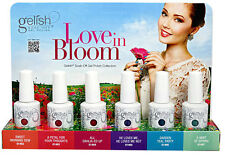 GELISH HARMONY GEL POLISH UV/LED LOVE IN BLOOM 6 Colors Set Full Size 0.5 oz