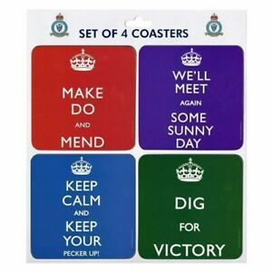 Iconic-WWii-Slogans-Bomber-Command-Drinks-Coasters-Set-of-4