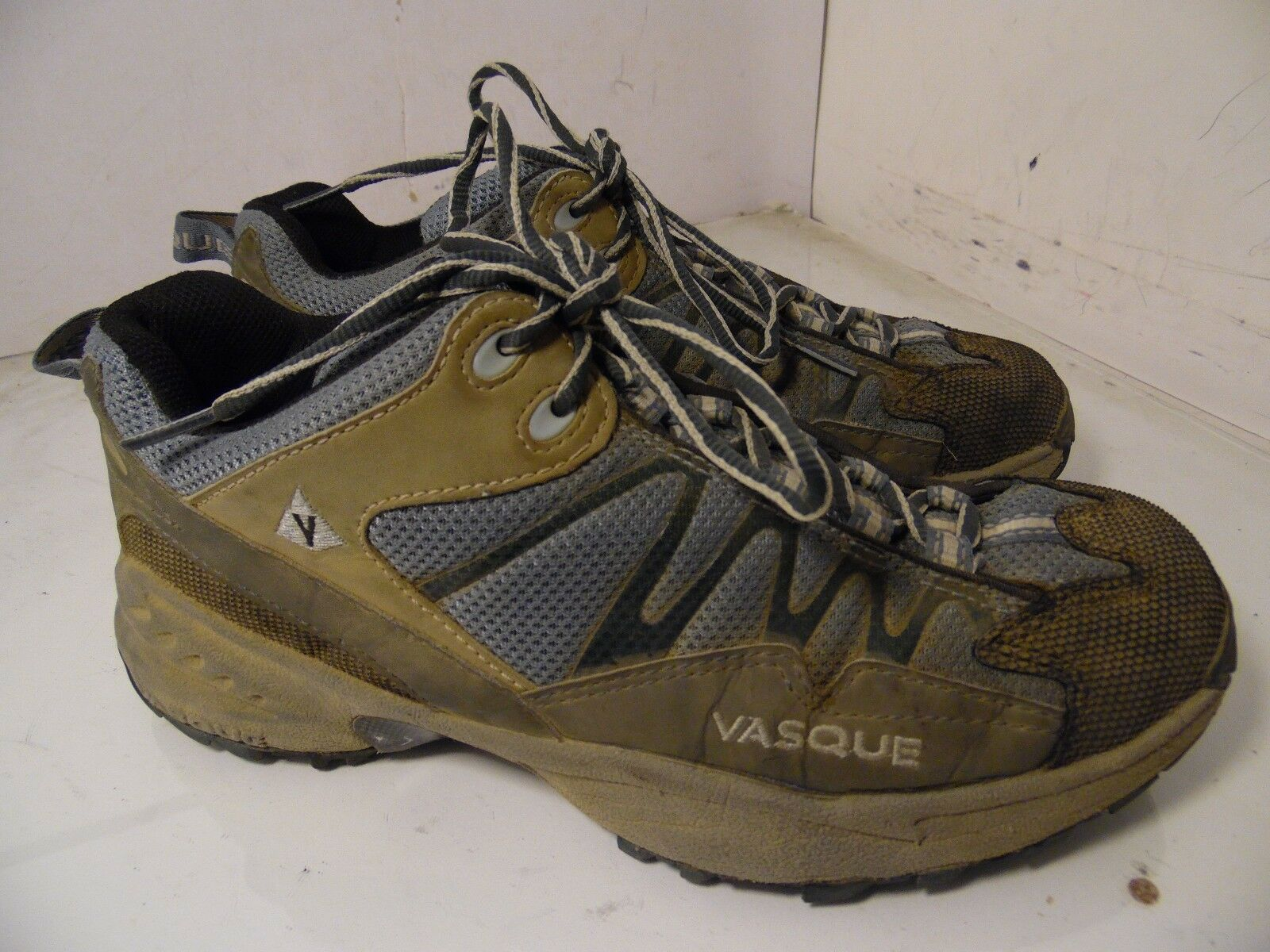 Vasque Velocity Trail Hiking shoes - Dusty bluee Slate - Womens 7611 Size 8.5