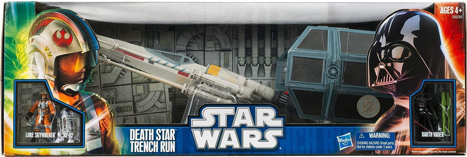 STAR WARS ANH DEATHSTAR TRENCH RUN TOYS R'US  EXCLUSIVE SEALED TRU RESHIPPER