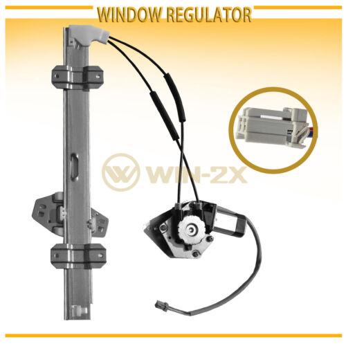 2pcs Front Left+Right Power Window Regulators w// Motor Fit 94-97 Accord 4//5-Door