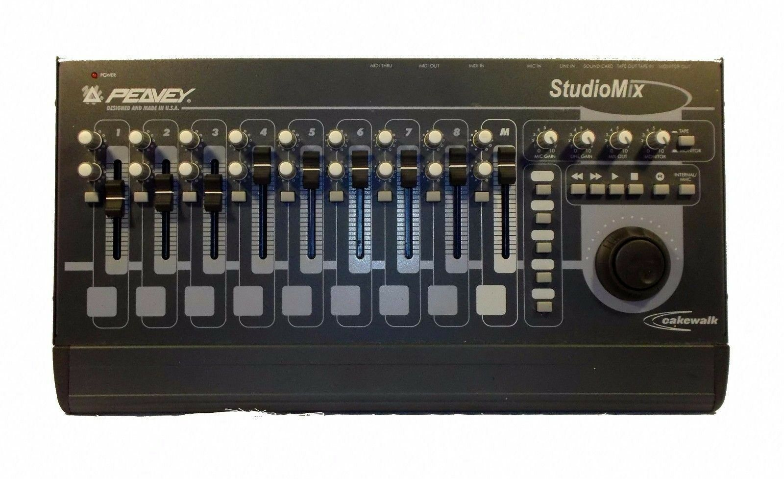 Peavey StudioMix Cakewalk Live Studio Mixer - Made in USA. Tested Work Perfect
