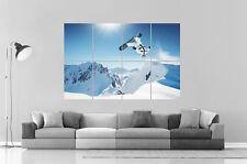 BACKFLIP SNOWBOARD Poster Grand format A0 Print 02