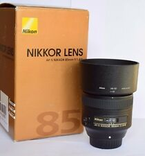 Nikon AF-S Nikkor 85mm f1.8G Fast Prime Lens. New/Unused. 12 Months Warranty