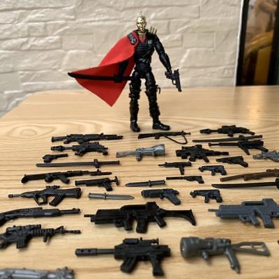 "Lot 14pcs Weapon Guns Sword Accesories For 3.75/"" STAR WARS Clone Tropper Figure"