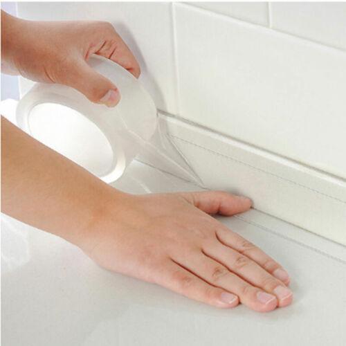 Neu Band Klebend Wasserdicht Transparent für Dichtungen von Küche und Bad