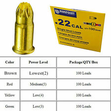 100 Yellow Loads for Dog Training Dummy Launcher//Retriev-R-Trainer,DT System .22