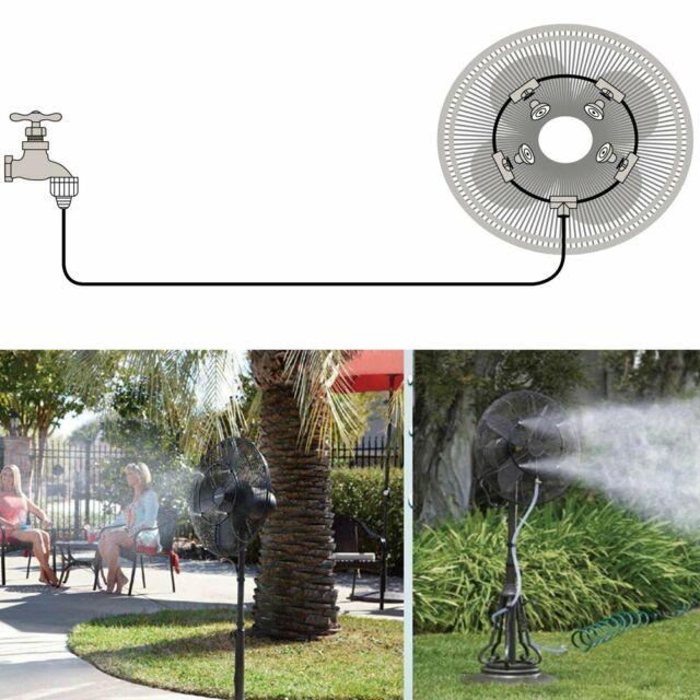 12 Outdoor Misting Fan Cooler Water