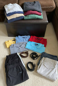 19-Piece-Mixed-Lot-Men-039-s-Clothing-Size-L-BRAND-NAME-EXCELLENT-CONDITION