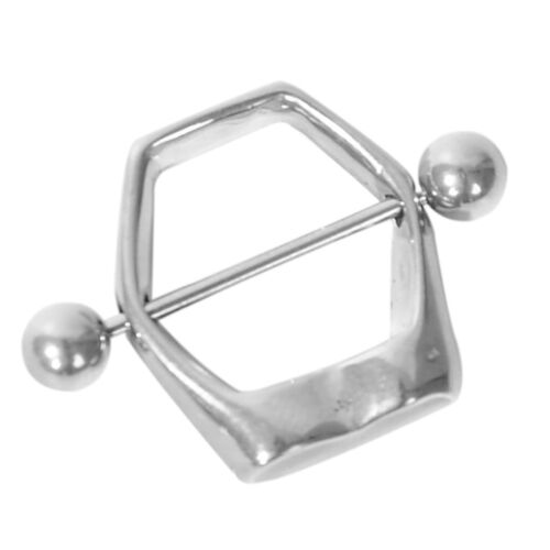 1//2//4//8PCS Nipple Ring Fake Nipple Ring Non Piercing Shield Barbell Body Jewelry