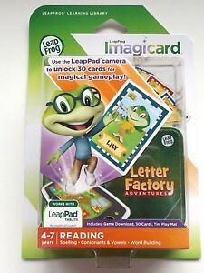 Leapfrog-LeapPad-2-3-Ultra-XDi-Platinum-Imagicard-Letter-Factory-New