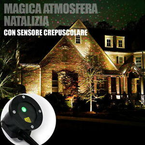 Proiettore Luci Natale Visto In Tv.Dettagli Su Proiettore Luci Di Natale Laser Led Per Esterno Con Sensore Crepuscolare Picchet
