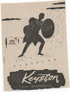 Pubblicita-vintage-KEYSTON-IMPERMEABILE-UOMO-advert-reklame-werbung-publicite