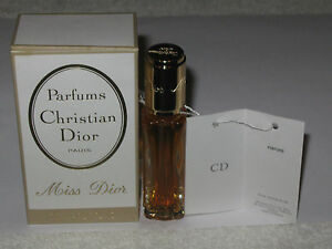 Vintage Christian Dior Miss Dior Perfume Bottle/Box - 1/4 OZ - 7.5 ML - Full #3