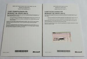 5 Device / Geräte CAL für Microsoft SQL Server 2008 R2 - inkl. MwSt