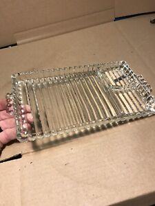 Antique-Glass-Dinner-Serving-Tray-Platter