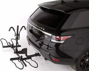 Overdrive Hitch Mounted Platform Bike Rack w/ Tilting For Electric & Fat Tire