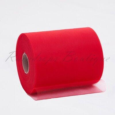 "Tutu TULLE ROLLS 6"" x 100 yards High Grade Polyester Netting Craft Fabric"