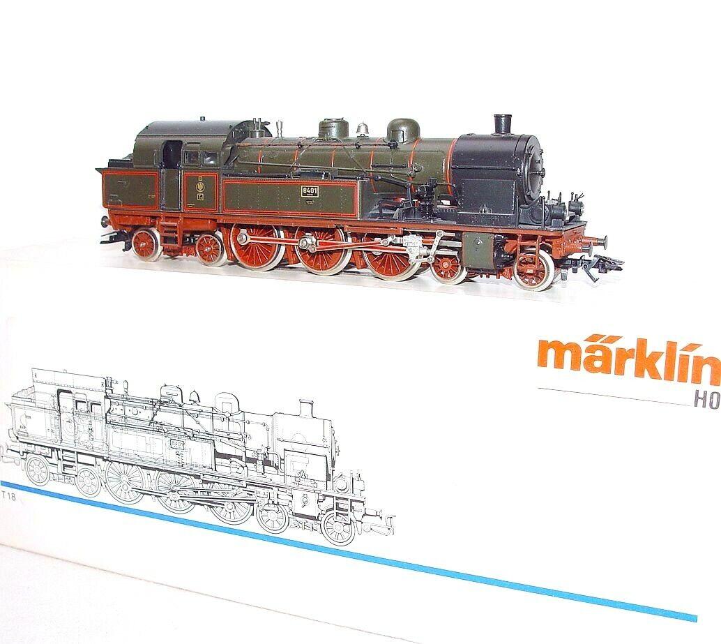 Marklin AC HO 1 87 KEV prussiano tedesco T18 Ssquadra TENDER LOCALOTIVE MIB`90 RARE