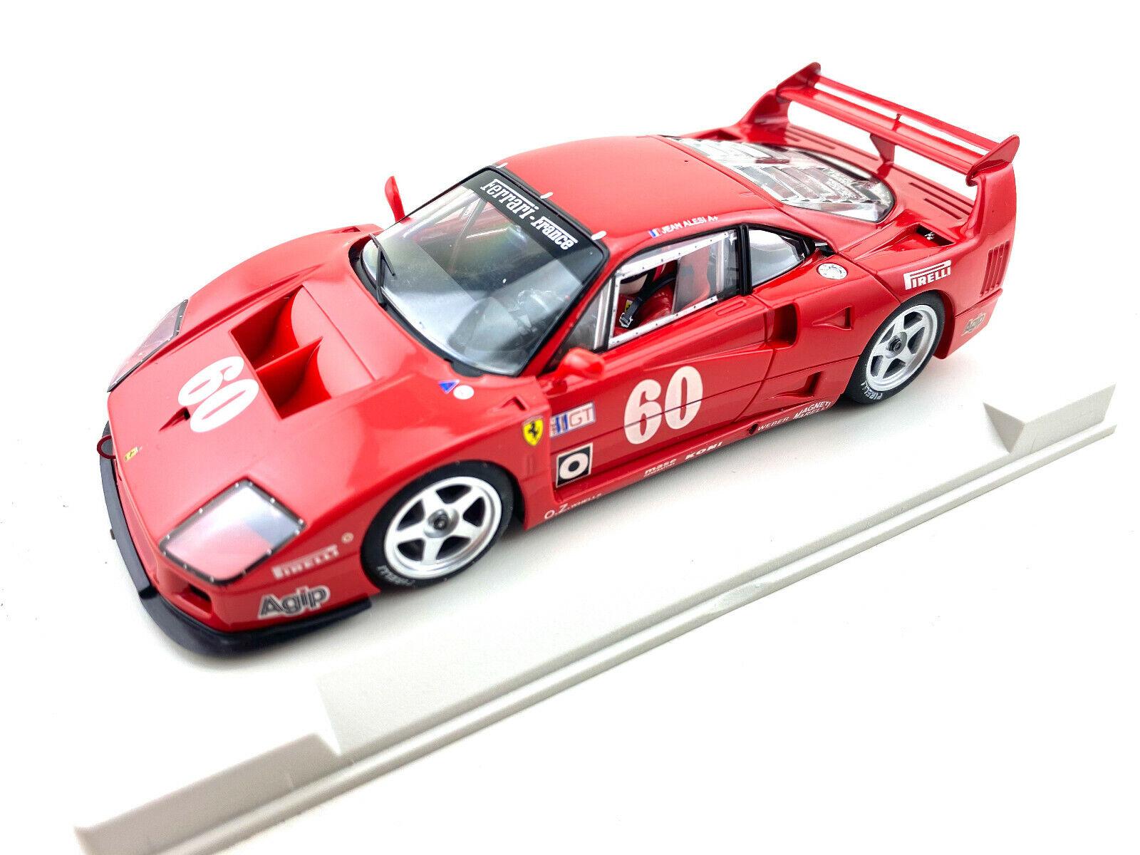 Imagen 1 - Fly-Car-Model-Ferrari-F40-IMSA-Laguna-Seca-1989-Jean-Alesi-1-32-Slot-Car