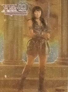 Xena-Season-one-Series-1-Topps-chrome-card-C2-no-2-of-2-in-a-set