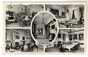 Woburn-Abbey-Multiview-Real-Photo-Postcard-c1940