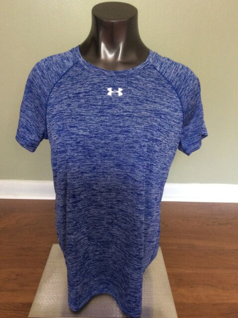 Under Armour Women s Athletic Dri Fit T-shirt Size Medium Blue Print for  sale online  df3d4be77